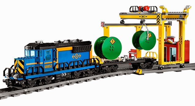 Lego Cargo/Freight Train