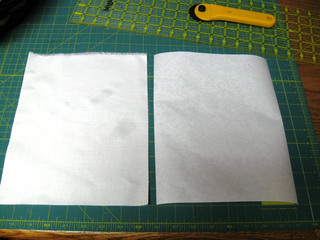 Happy Quilting: Freezer Paper Printing Tutorial