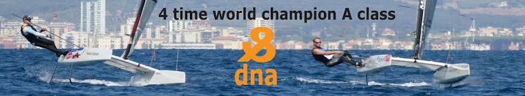 The DNA® A-class catamaran. Three times world champion. Proudly manufactured by Holland Composites.
