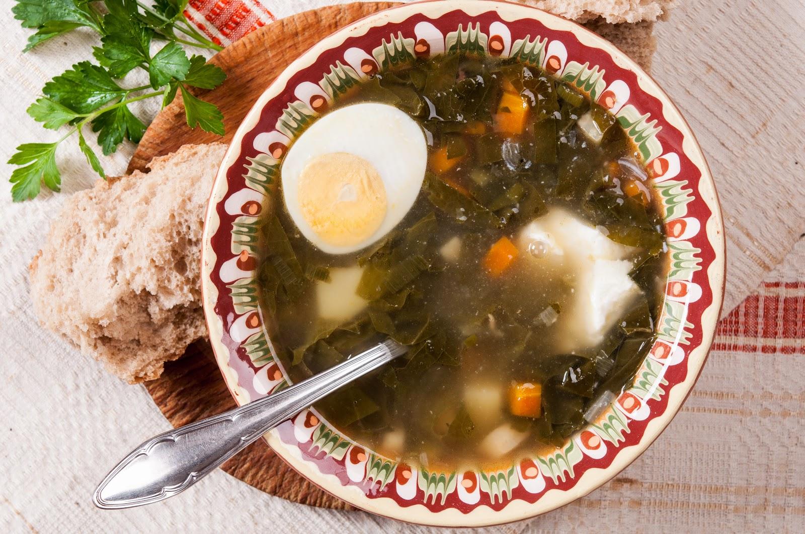Агнешка супа с лапад - агнешки борш