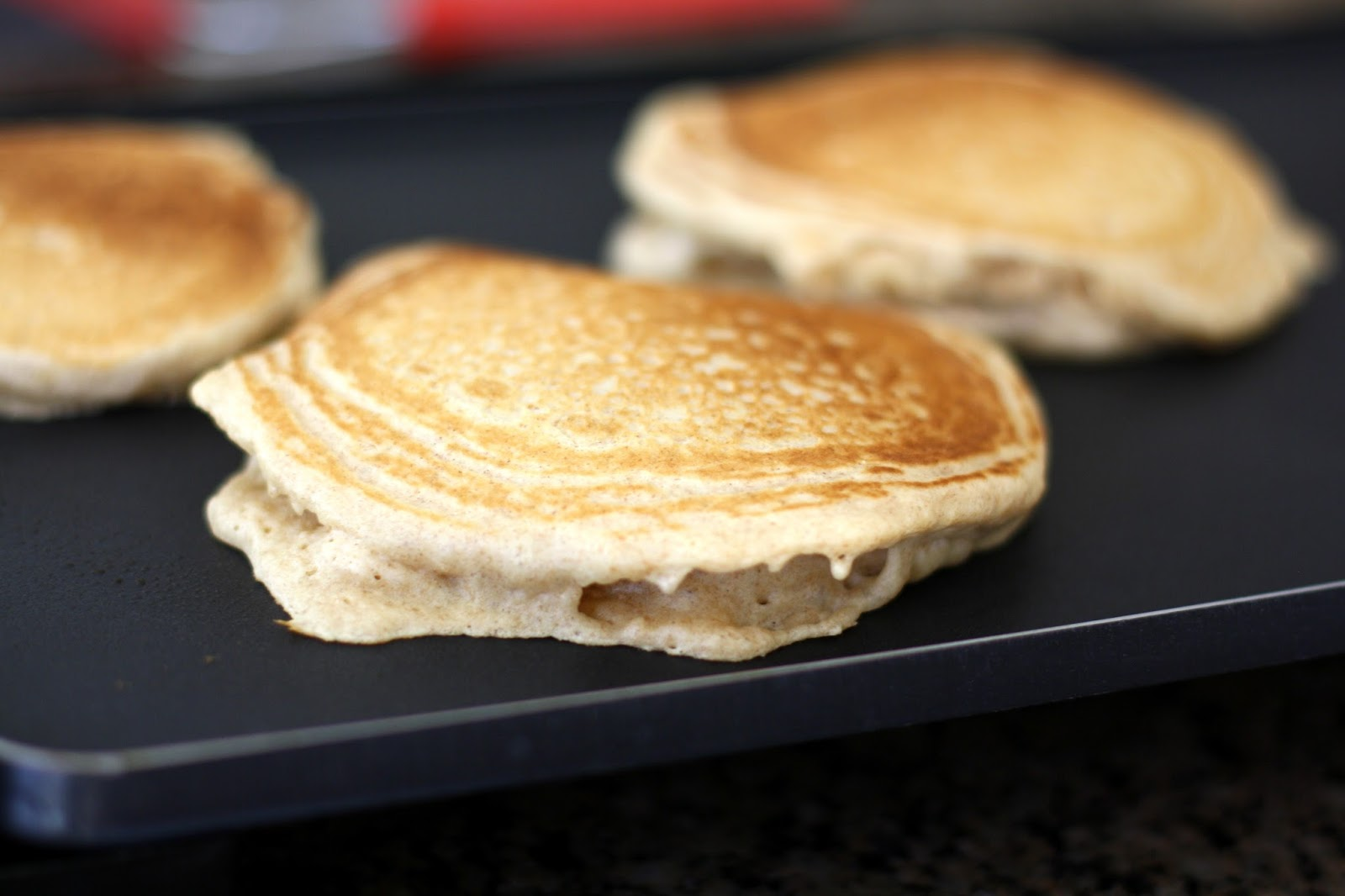 SAUSAGE PATTY PANCAKES : Butter With A Side of Bread
