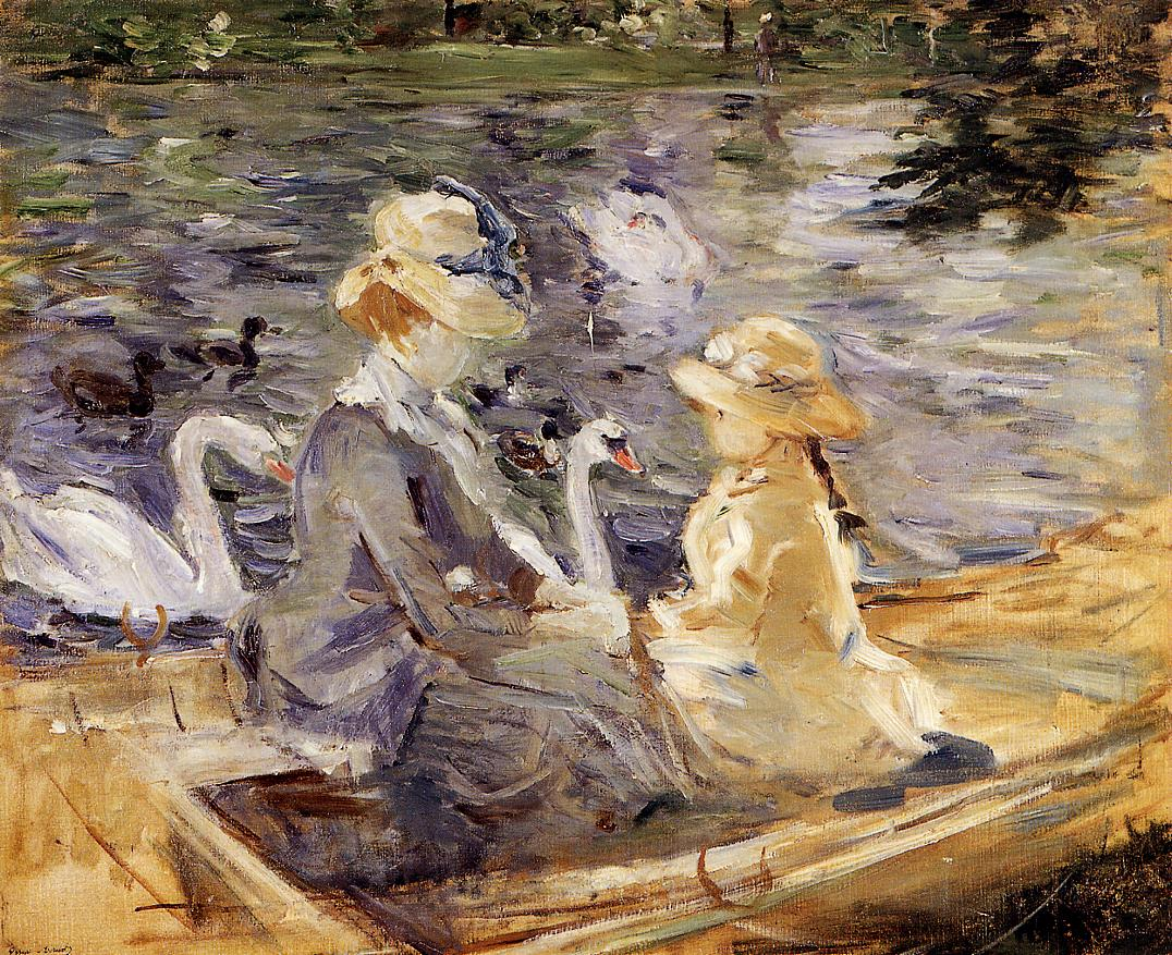1884 On the Lake in the Bois de Boulogne