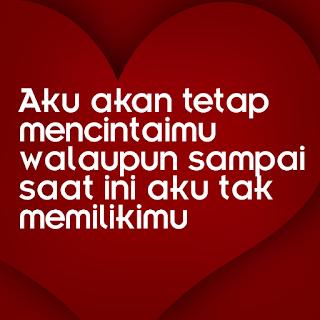 dp cinta tak harus memiliki