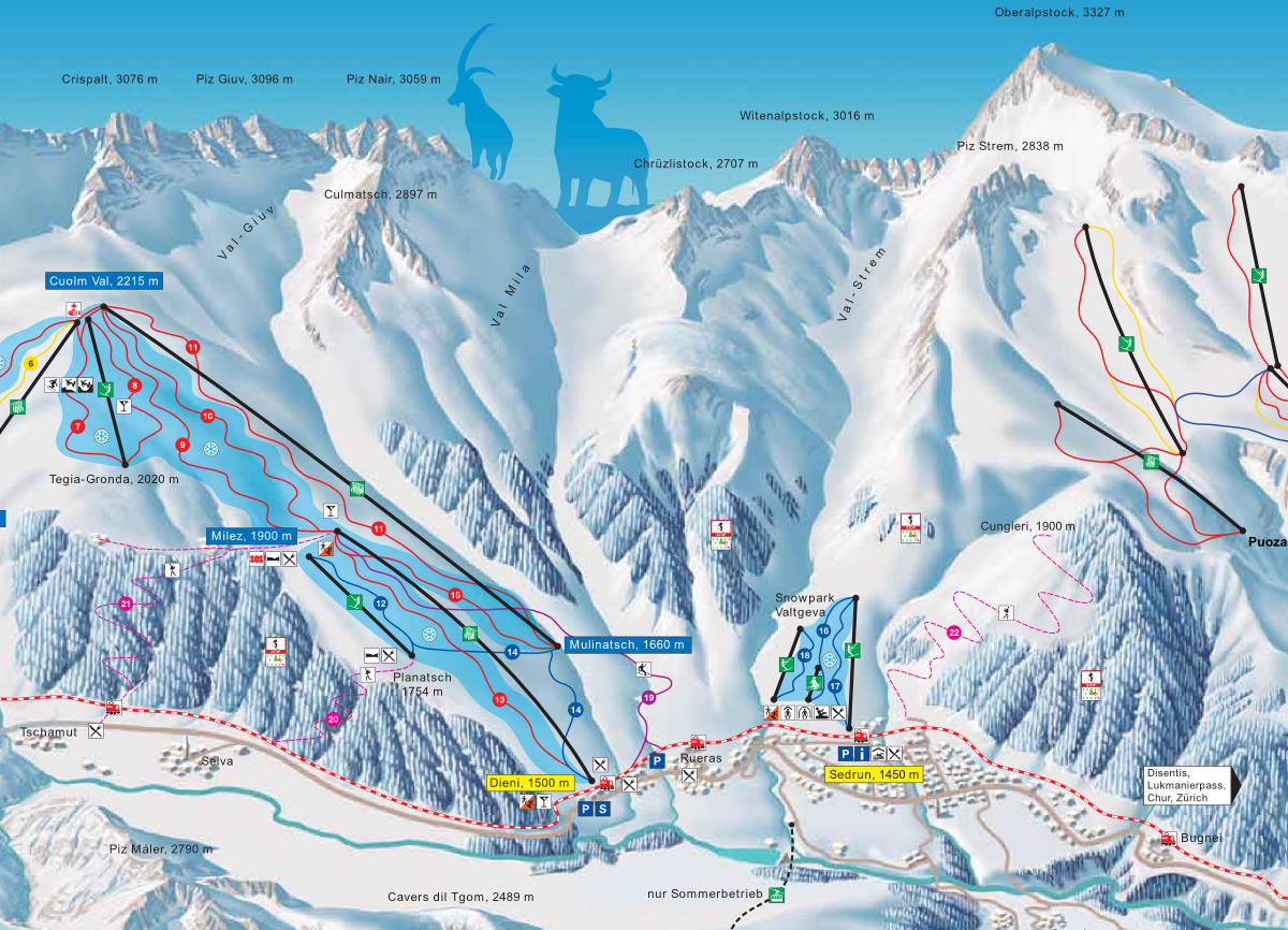The Andermatt Gallery Is a Connection With Disentis a Possibility