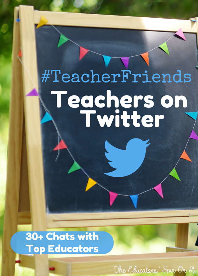 Join #TeacherFriends Tuesdays 9pm EST