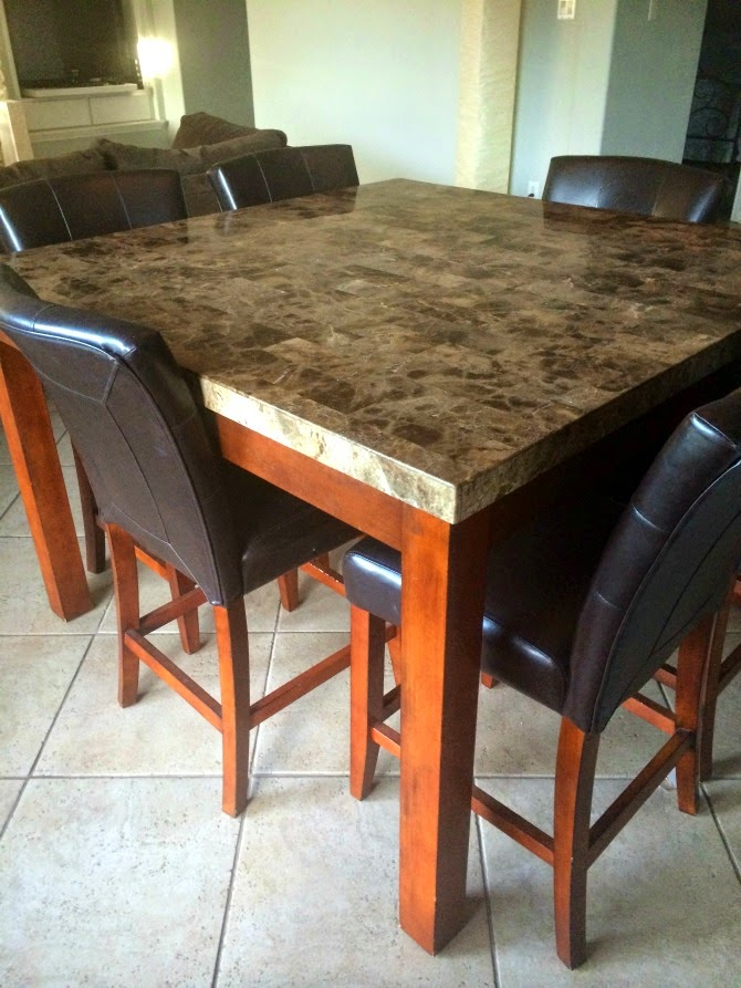 The Holland House: Dining Table- Before