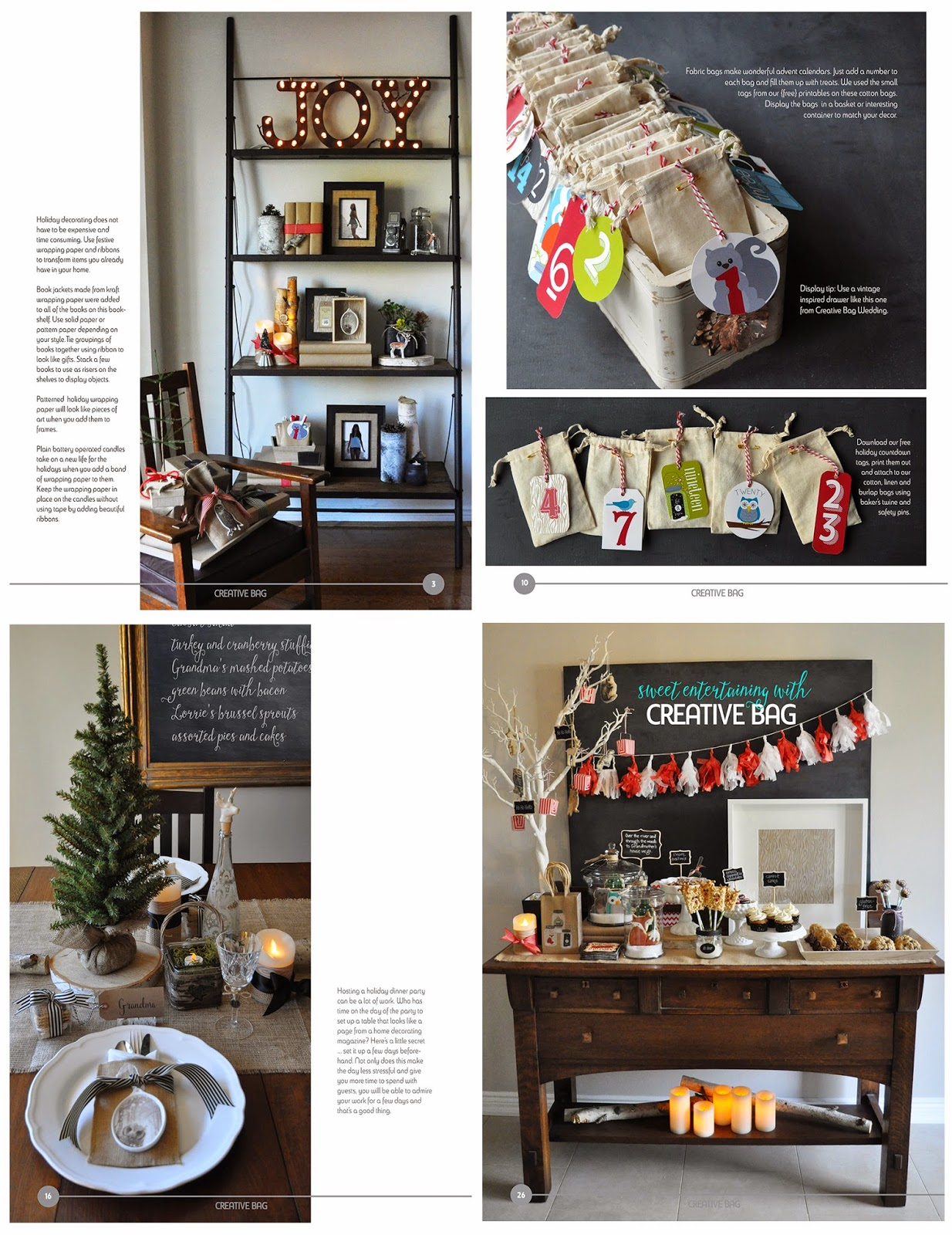 Let's Celebrate - holiday 2014 | Creative Living online magazine