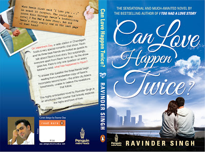 Can Love Happen Twice , ravinder singh book