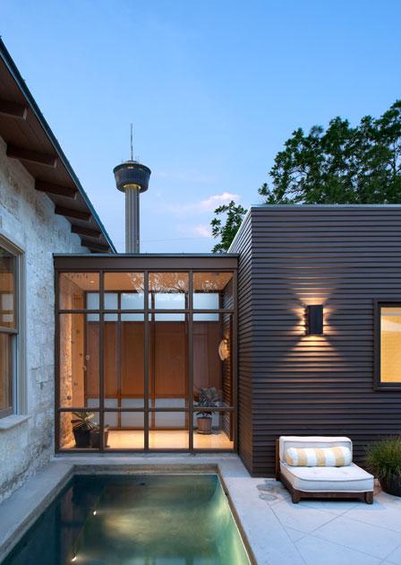 Casas minimalistas y modernas jardines y exteriores - Jardines modernos minimalistas ...