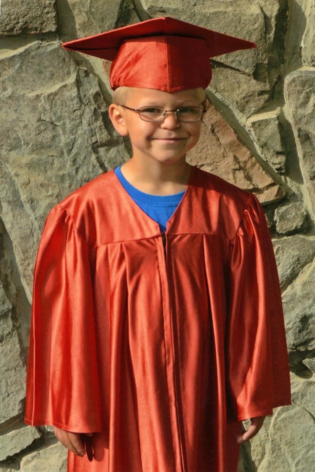 Salmon Tolman Fam: Kindergarten Graduation