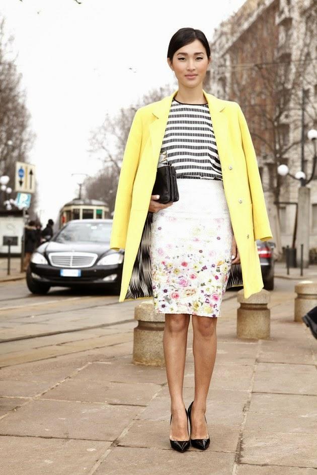 Vestir con Faldas tipo Tubo