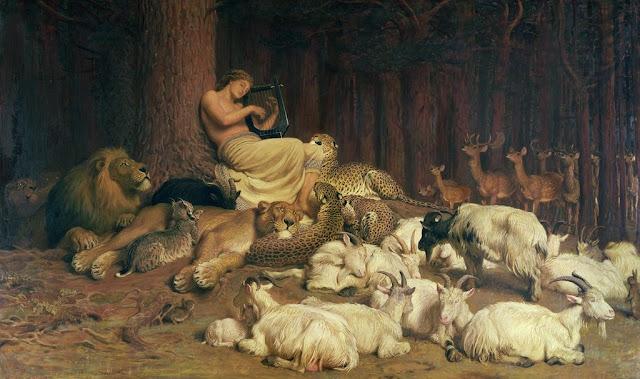 Apollo,Romanticism,Briton Rivière