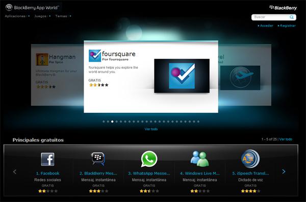 Las Mejores Aplicaciones Para Blackberry Blackberry Curve