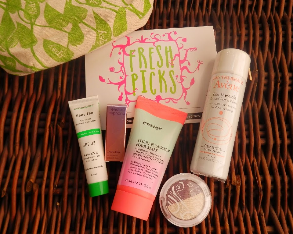 May 2014 Ipsy Glam Bag contents