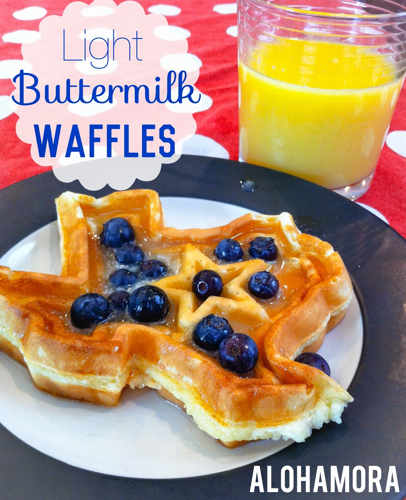 Light Buttermilk Waffles from scratch that are easy to make, take common and simple ingredients, tastes amazing, and all around a delicious breakfast or breakfast for dinner. Alohamora Open a Book http://www.alohamoraopenabook.blogspot.com/