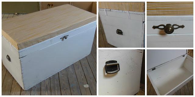 houten kist restaureren