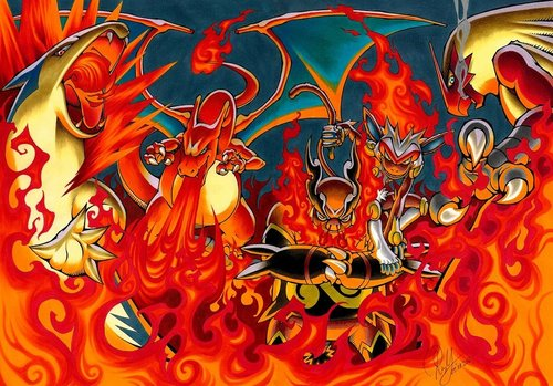 Fire Pokemon Wallpapers - Wallpaper Cave