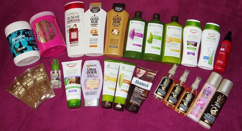 Zapasy kosmetyczne, część III: kosmetyki do pielęgnacji włosów