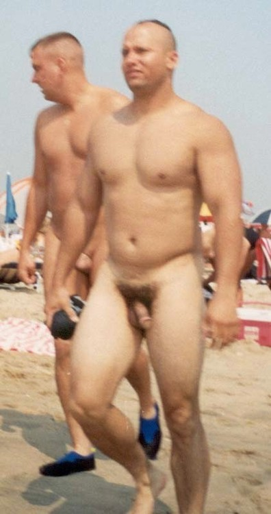 Beach Hunks Without Trunks