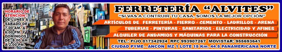 FERRETERIA ALVITES