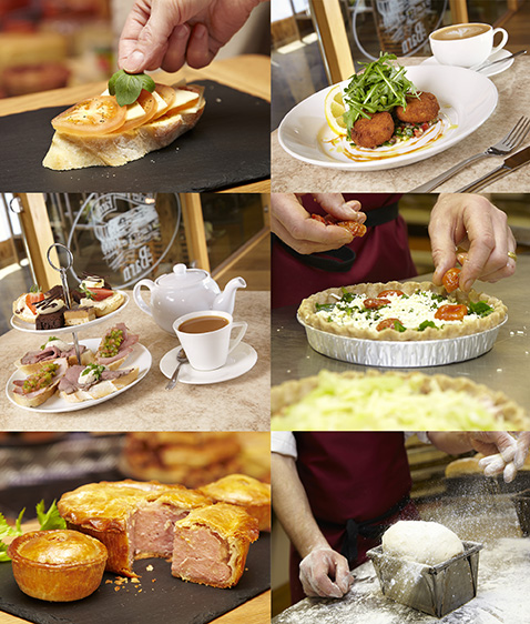 Food Photographer Location Shoot