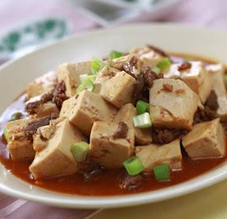 Masak Tahu Mapo Tofu