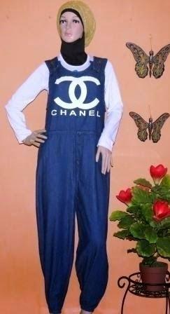 Overall Jeans celana kodok GJ1067