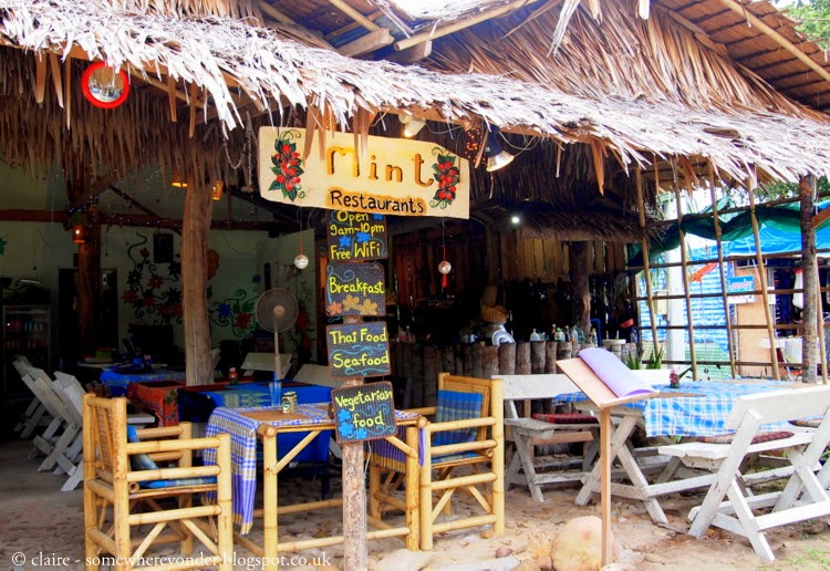 Mint cafe - Ko Phi Phi village, Thailand