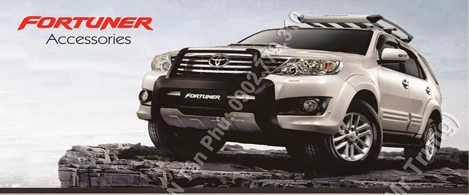 nội thất Toyota Fortuner, ngoại thất toyota, đồ chơi chính hãng toyota tân phú chi nhánh