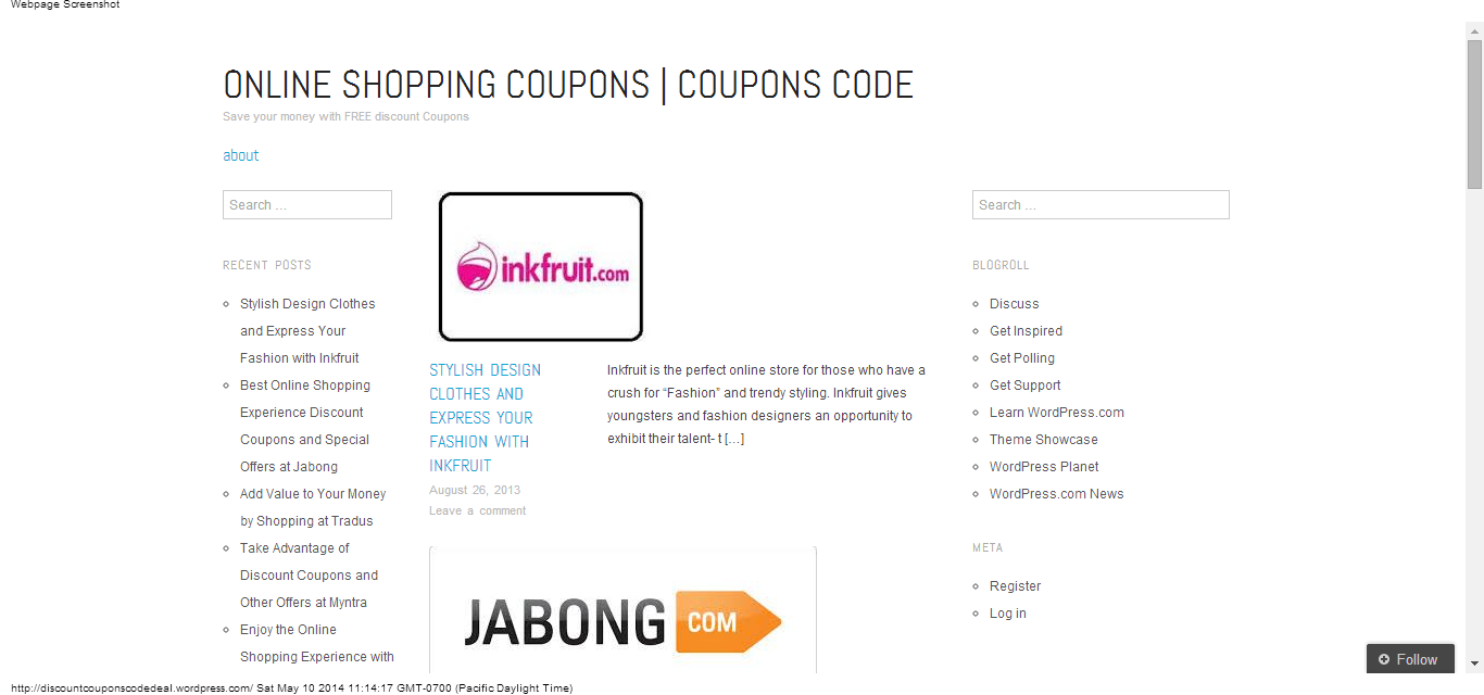 Discount coupons Blog