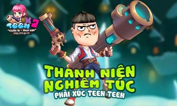 Tai Game Teen Teen ve dien thoai di dong
