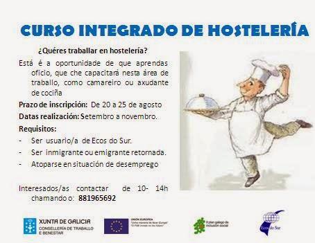 Blog ecos do sur agosto 2014 - Curso de ayudante de cocina ...