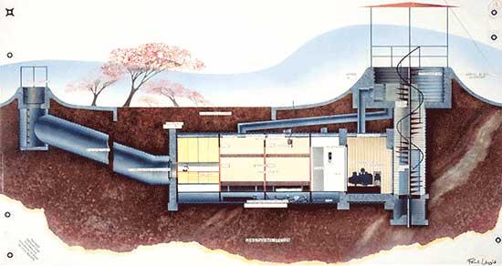 planos de casas subterraneas