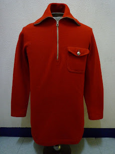 20's~30's NATIONAL SPORTSWEAR PULLOVER WOOL SPORTS JKT.