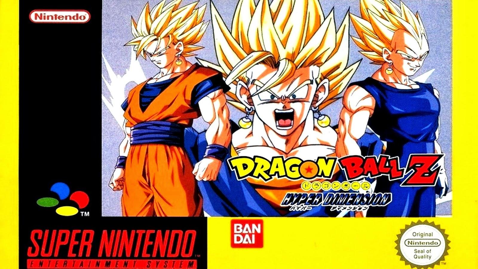 Dragon Ball Z: Hyper Dimension snes game cover