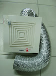 "Q2A-VENTILATION FAN 8"" WITH HOSE"
