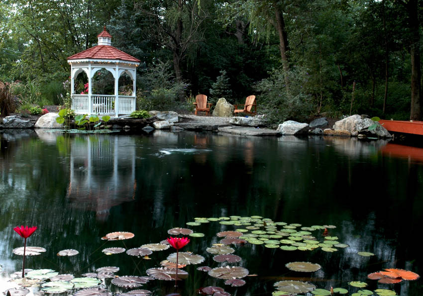 Aquascape Your Landscape Gazebos and Water Gardens A