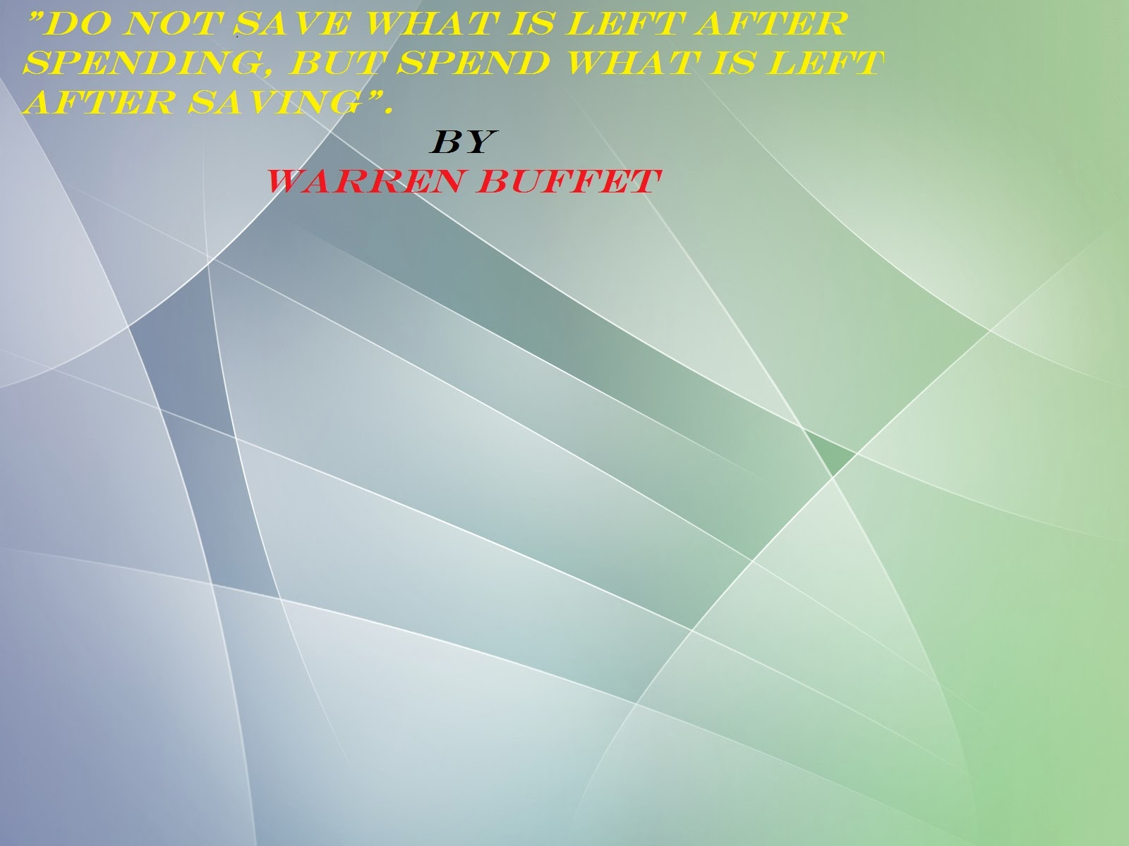 Warren Buffet Quotes Wallpapers