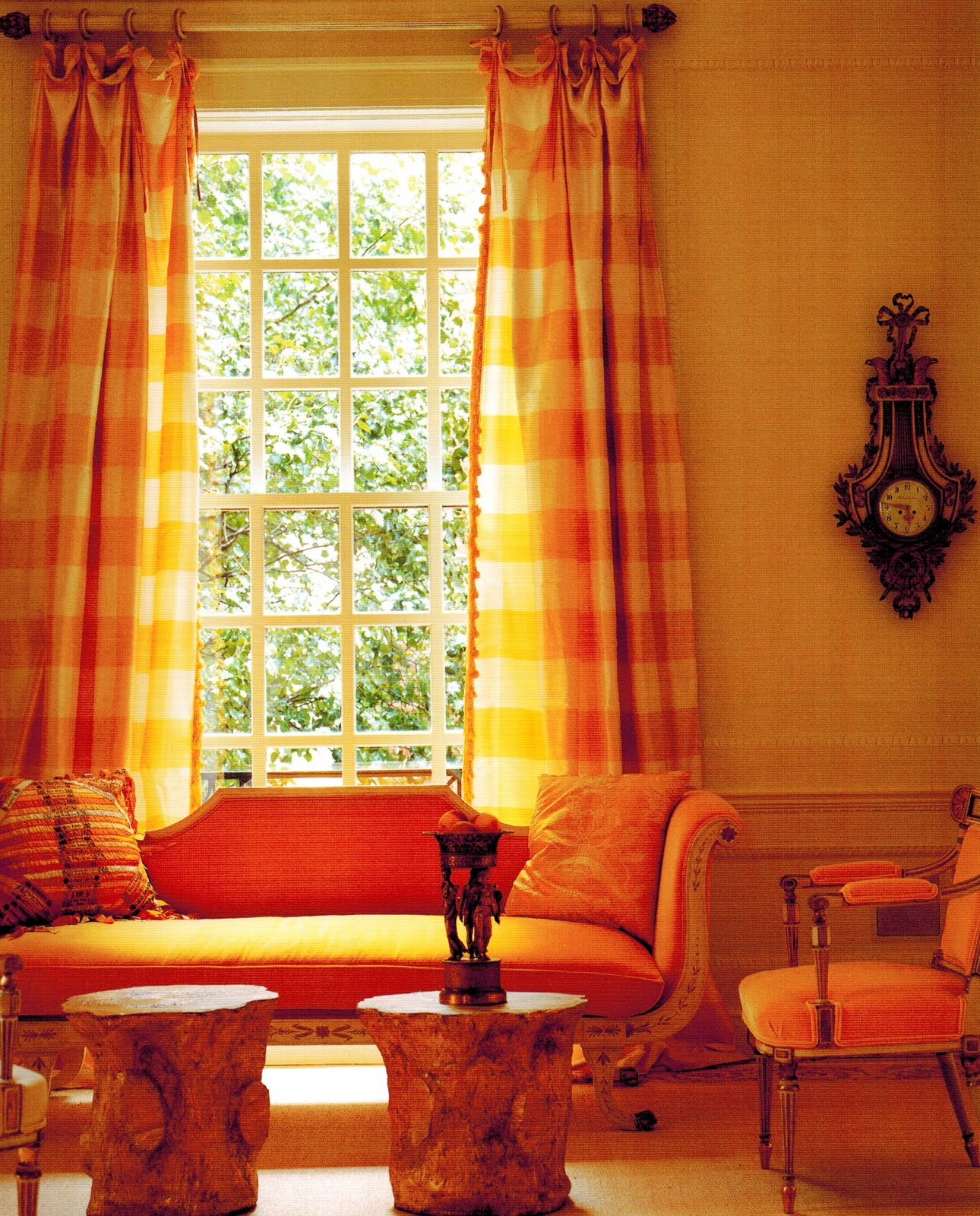 Yellow Gingham Kitchen Curtains Similiar Red Yellow Kitchen Curtain With Valance Keywords