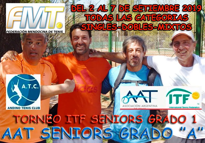 ITF SENIOIRS GRADO 1 - COPA ANDINO - MENDOZA