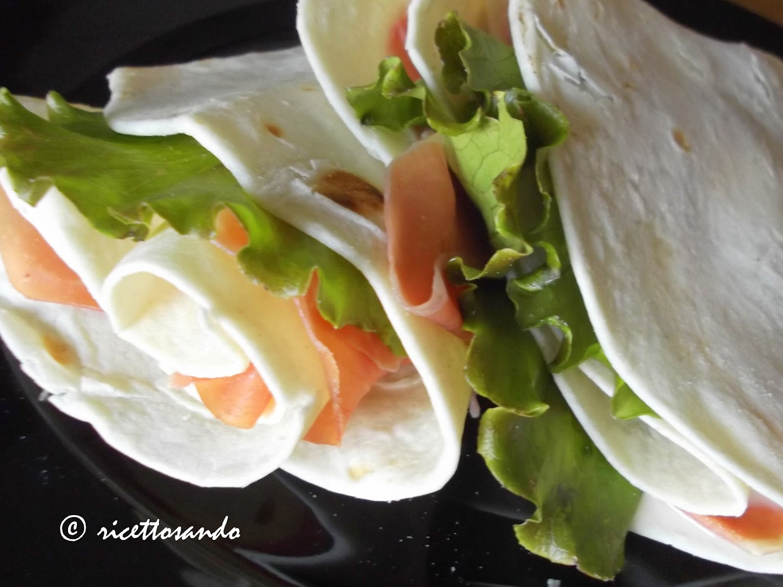 piadina ricetta di base fingerfood