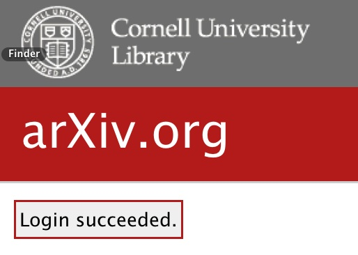 To submit an article | arXiv e-print repository