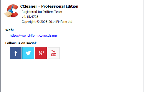 CCleaner 4.15.4725
