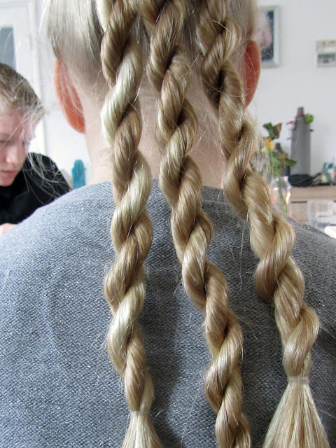 three spiral braids