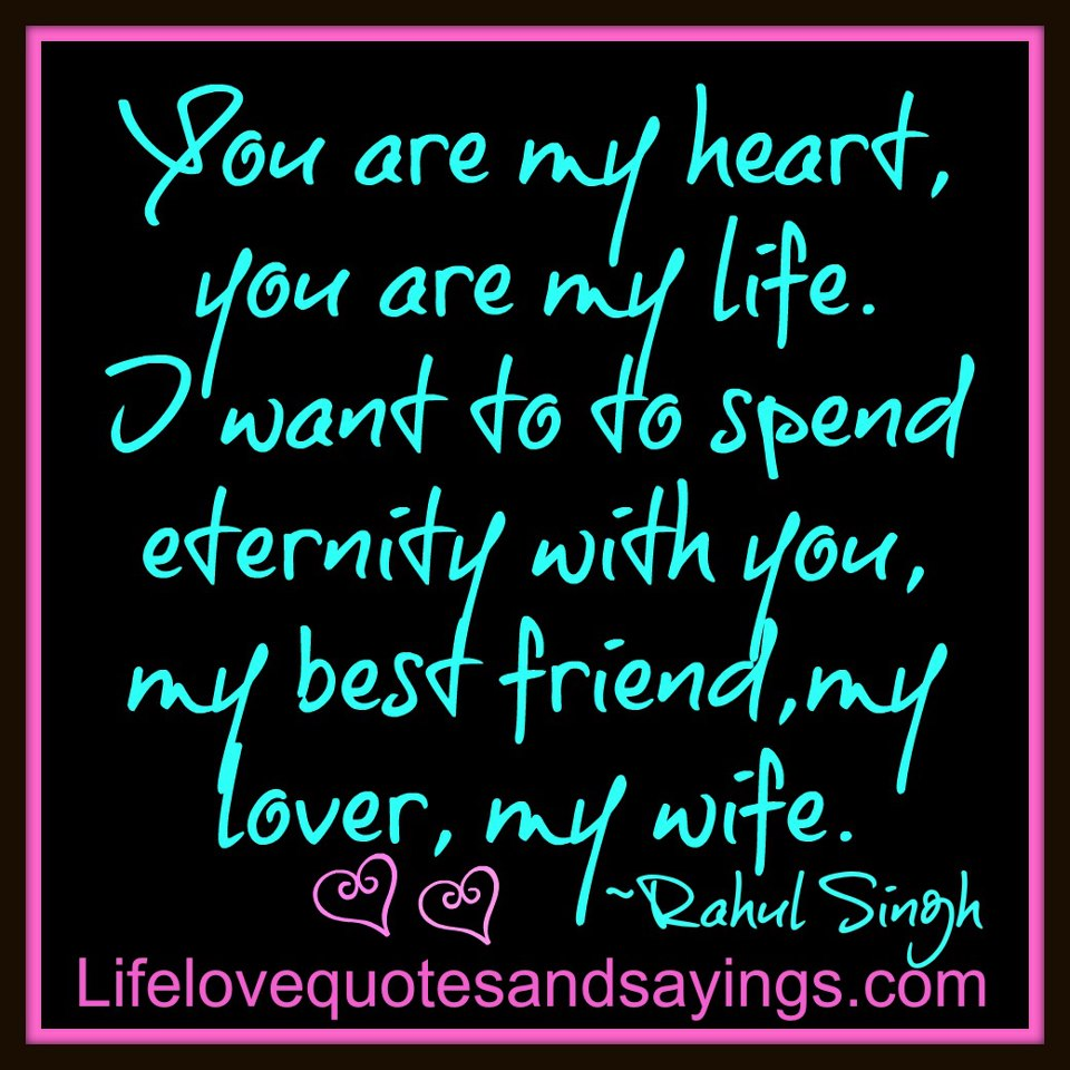 Wife Love Quotes : Love My Wife Quotes For Facebook. QuotesGram