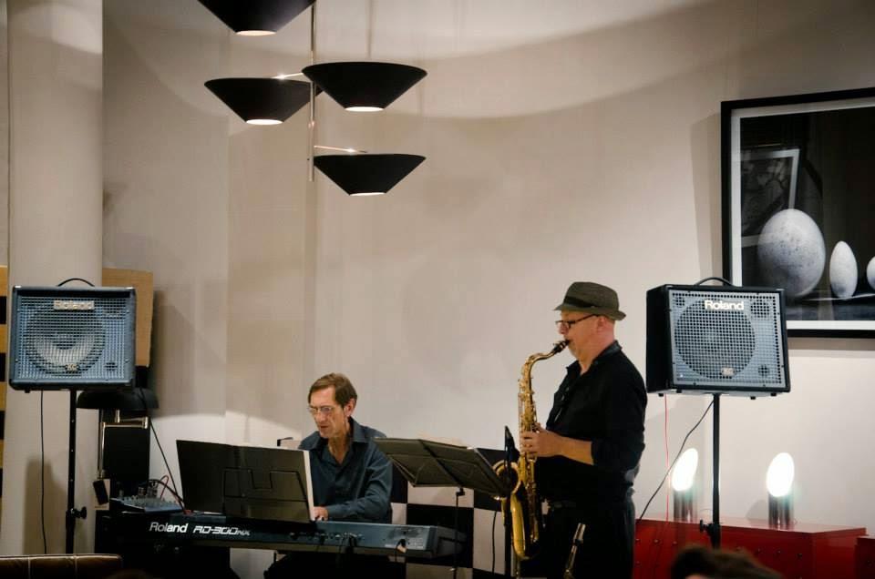 Piano & Saxo en Ravanal. Evento Summa