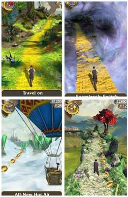 Temple Run: Oz screen