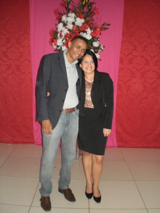 Pr. Vilmar Rodrigues e Danielle Nascimento