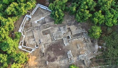 Canaanite palace at Tel Kabri 'surprisingly sparse'