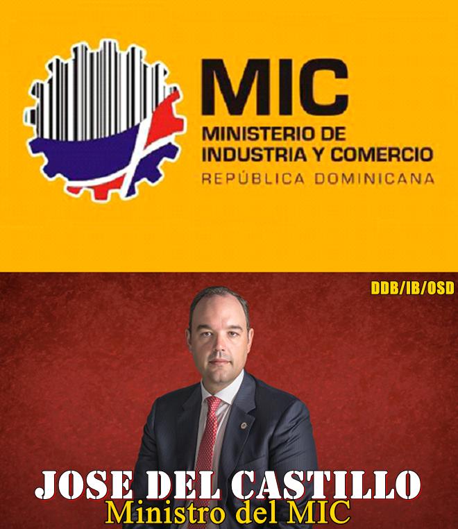 MINISTERIO DE INDUSTRIA Y COMERCIO-MIC. Ministro Jose del Castillo